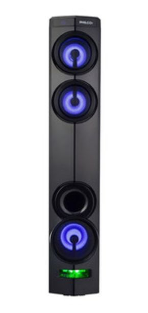 Oferta de Sistema De Audio Portatil Torre Philco Tap350 3000w Bt por $18499