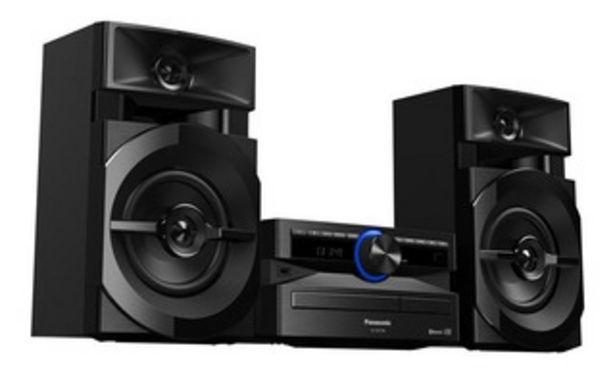 Oferta de Panasonic Sc-akx100prk 3300w Pmpo Bt Usb por $20499