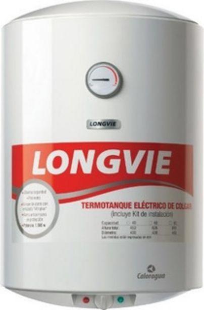 Oferta de Termotanque Eléctrico 60lts Longvie Te60f Blanco 2057 Pr por $24999