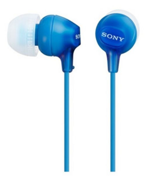 Oferta de Auricular Sony Mdr-ex15lp In-ear Azul 2866 por $1199