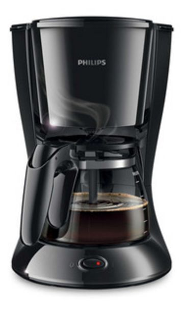 Oferta de Cafetera Philips Daily Collection Hd7447 Negra 220v por $5999