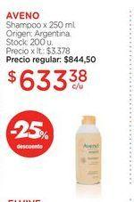 Oferta de Shampoo x 250ml AVENO  por $633,38