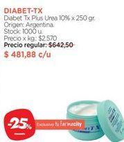 Oferta de DIABET-TXDiabet Tx Plus Urea 10% x 250 gr. por $481,88