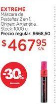 Oferta de EXTREMEMáscara de Pestañas 2 en 1. por $467,95