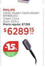 Oferta de PHILIPSCepillo Alisador Cepillo alisador BHH880/00. por $6289,15