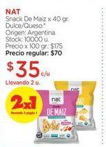 Oferta de NATSnack De Maiz x 40 gr. por $35