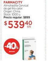 Oferta de FARMACITYAlmohadilla Cervical de gel frío calor. por $539,4