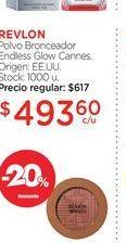Oferta de REVLONPolvo Bronceador Endless Glow Cannes. por $493,6
