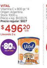 Oferta de VITALVitamina C x 800 gr. por $496,2