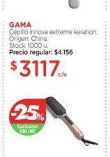 Oferta de GAMACepillo innova extreme keration. por $3117