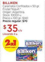 Oferta de BILLIKENCaramelos Confitados x 50 gr. por $35