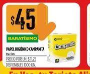 Oferta de Papel higiénico Campanita 4 un  por $45