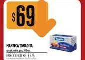 Oferta de Manteca Tonadita 200grs  por $69