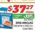 Oferta de Sal Dos Anclas estuche 500gr  por $37,27