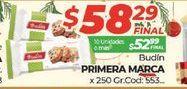 Oferta de Budín Primera marca  por $58,29