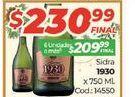 Oferta de Sidra 1930 750ml  por $230,99
