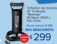 Oferta de Inflador de bomba Bestway por $299