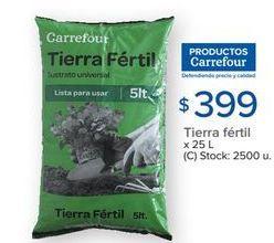 Oferta de Tierra para plantas Carrefour por $399