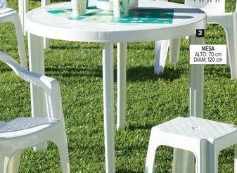 Oferta de Mesa de jardín redonda por $3290