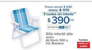 Oferta de Silla infantil por $390