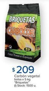 Oferta de Carbón vegetal por $209