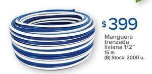 Oferta de Manguera trenzada por $399