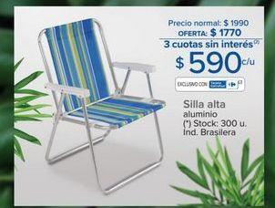 Oferta de Silla plegable por $590
