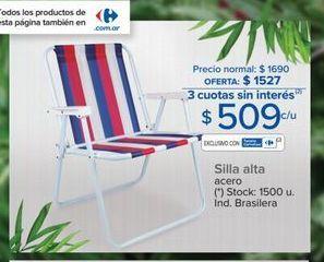 Oferta de Silla alta  por $509