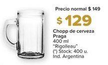 Oferta de Jarra de cerveza Rigolleau por $129