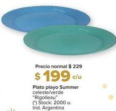 Oferta de Platos por $199