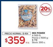 Oferta de Mix power 500g  por $359