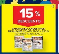 Oferta de Camarones/langostinos/mejillones  por