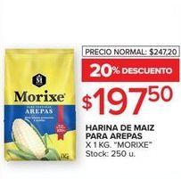 Oferta de Harina de maíz para arepas 1kg  por $197,5