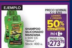 Oferta de Shampoo siliconado manzana 600cc  por $273,75