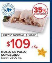 Oferta de Muslos de pollo congelado  por $109