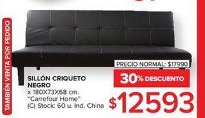 Oferta de Sillón criqueto negro  por $12593