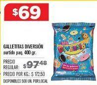 Oferta de Galletas Diversion por $69