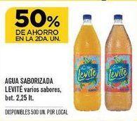 Oferta de Agua con sabor Levité por