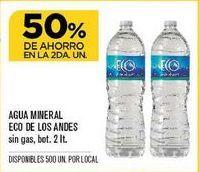 Oferta de Agua Eco de los Andes por