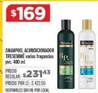Oferta de Shampoo o acondicionador Tresemmé por $169