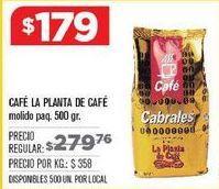 Oferta de Cafe La planta de Café por $179