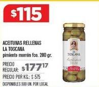 Oferta de Aceitunas rellenas La Toscana por $115