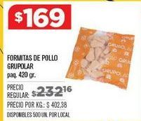 Oferta de Nuggets de pollo por $169