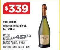 Oferta de Vino espumoso Emilia por $339