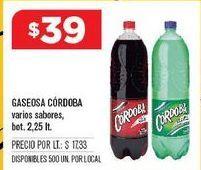 Oferta de Gaseosas Córdoba por $38
