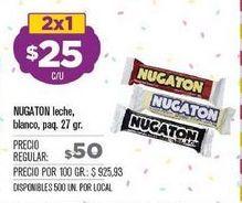 Oferta de Chocolatines Nugaton por $25