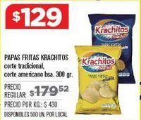 Oferta de Papas fritas Krachitos por $1229