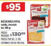 Oferta de Preparado para bizcocho Royal por $95