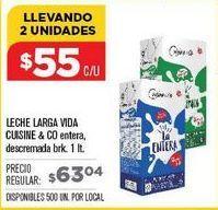 Oferta de Leche Cuisine por $55