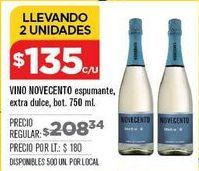 Oferta de Vino espumoso Novecento por $135